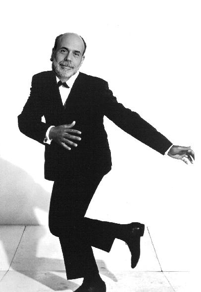 Ben Bernanke does the twist