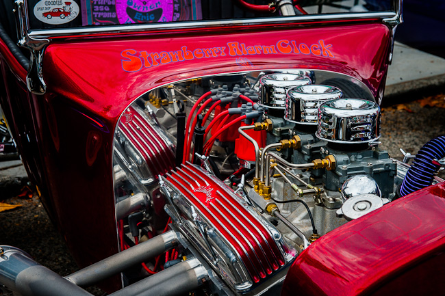 "1923 T-Roadster, the ""Strawberry Alarm Clock"" - the innards"
