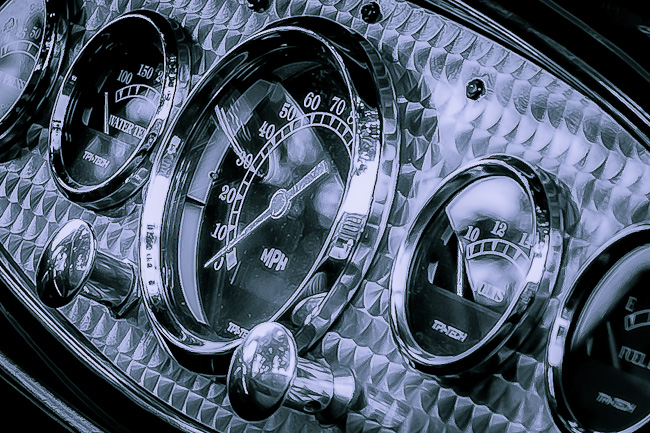 1932 Ford Roadster Interior Detail