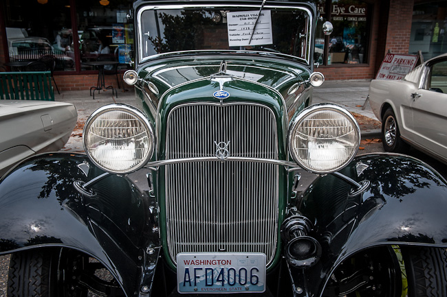 1932 Ford Victoria - Front View