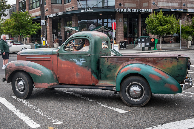 1939 Studebaker pickup - not as pretty from the side