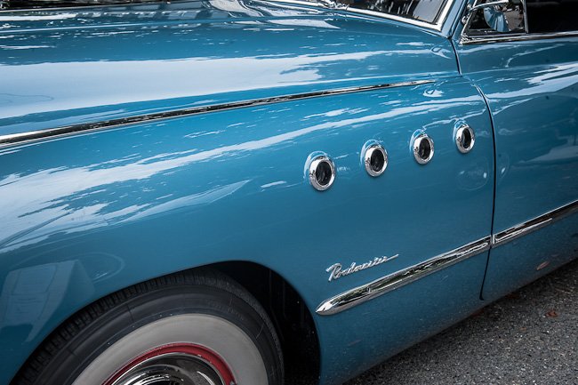 1949 Buick Roadmaster - Detail