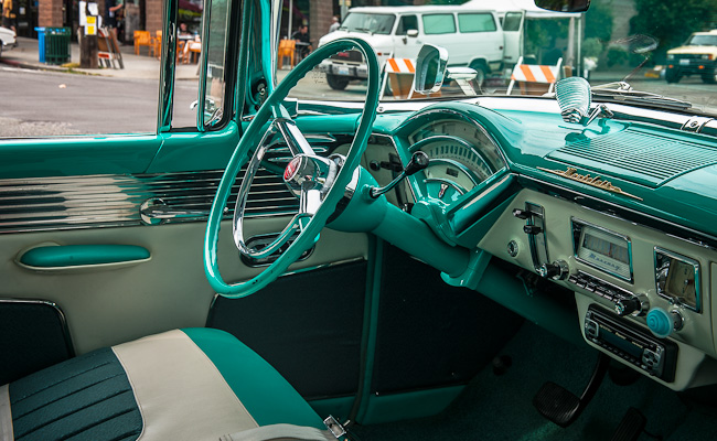 1955 Mercury Montclair - 2-Tone Interior
