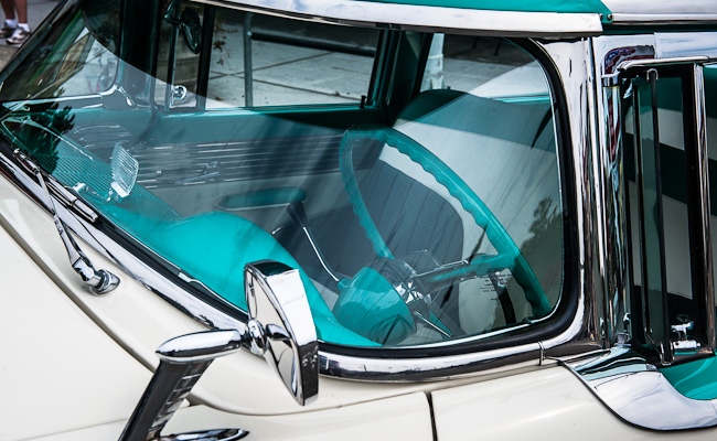 1955 Mercury Montclair - Detail