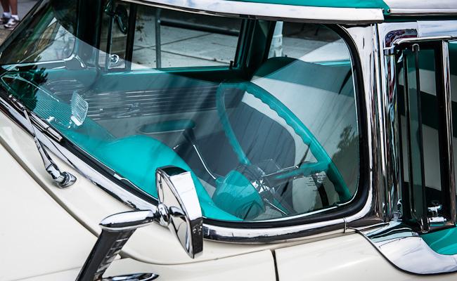 1955 Mercury Montclair - Detail