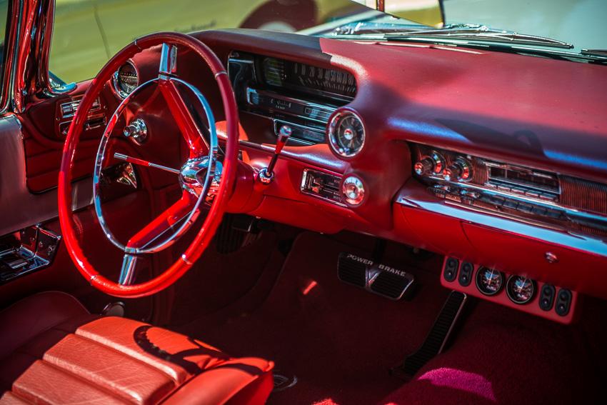 1959 Eldorado Cadillac interior