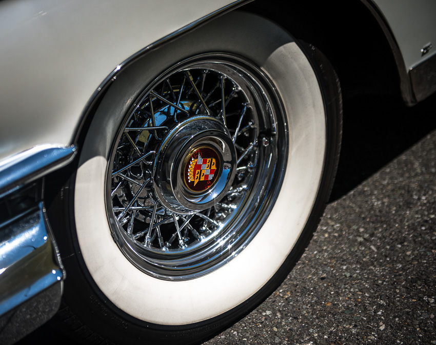 1959 Cadillac Eldorado - white wall tires
