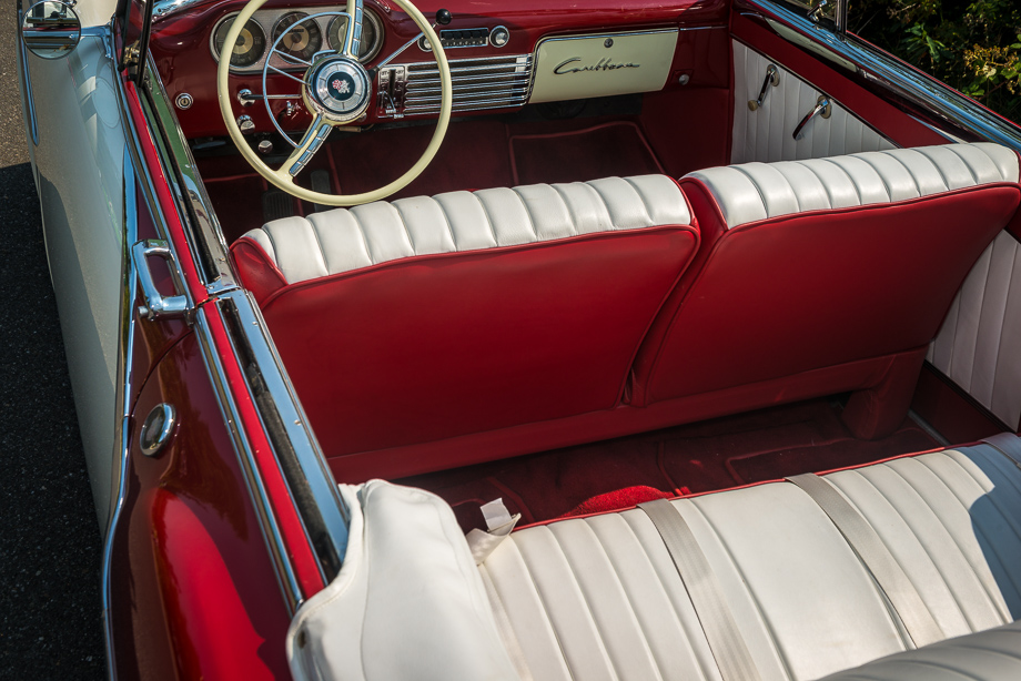 1952 Packard interior