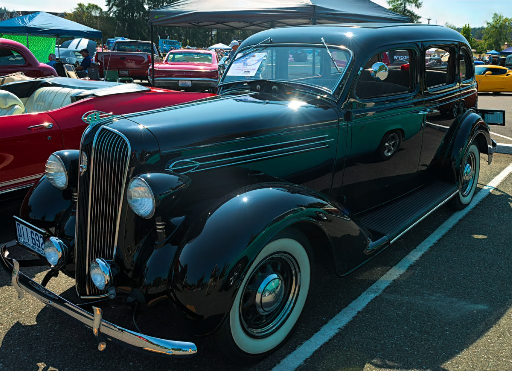 1936 Plymouth touring sedan