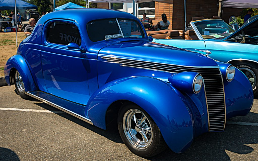 1937 Studebaker custom coupe