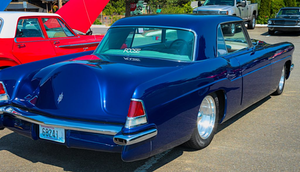 1956 Lincoln Continental Mark ii - rear view